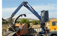 Marchesi - Model RS Series - Not Foldable Forestry Cranes