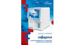 Cellagon - Model 3 - 3 Part Differential Automated Hematology Analyzer- Brochure