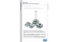 ECO Series COD Thermoreactors - Leaflet
