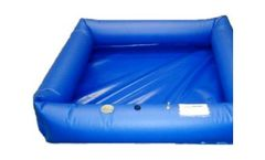 Husky - Air Wall Decontamination Pools