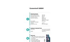 technical sheet CONVERTER 1000H