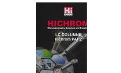 Hichrom - Model PAH2 - HPLC Columns Brochure