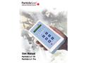 ParticleScan™CR & ParticleScan™Pr -  Manual