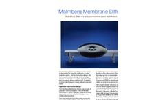 Malmberg - Tube Diffusers Datasheet