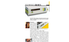 Eco Physics CLD 82 S NOX Analyzer- Brochure