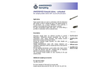 ANKERSMID - Model AST & ATF - Gas Sample Tube - Brochure