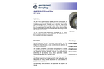 ANKERSMID - Model APF Series - Panel Mounting Filter - Brochure