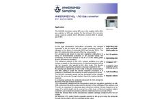 ANKERSMID - Model AOX Series - NOX Convertor - Brochure