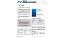 PME - Model RS 232/485 T-Chain - Long Electrical Cable Containing Temperature Sensors - Brochure