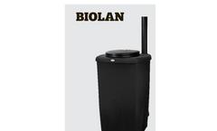 Biolan - Model eco - Composting Toilet - Manual