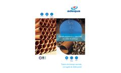 Adequa - Ground Drainage PVC System Brochure