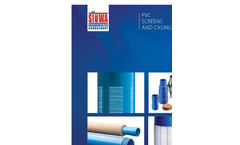 PVC screens and casings- Brochure