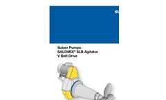 SL/ST Salomix Side-Mounted Horizontal Agitators