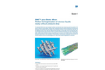 Sulzer - Model Type SMX and SMX plus - Static Mixer Brochure