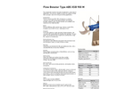 Technical Data Sheet - Flow Booster type ABS XSB 900 M