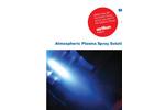 Atmospheric Plasma Spray Solutions V3 - Brochure