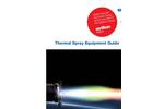 Thermal Spray Equipment Guide V10 - Brochure