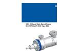 GSG - Diffuser Style Barrel Pump Brochure