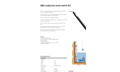 ABS - Conductive Level Switch Brochure