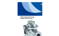 SMD Axially Split Casing, Double Suction Pump Brochure
