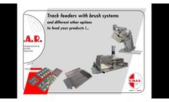 Automatic Feeder applicable on O.M.A.R. srl machines - Video