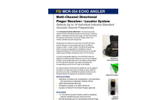 Echo-Angler - Model MCR-554 - 16-Channel Acoustic Receiver Brochure