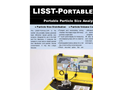 LISST-Portable-XR Battery Powered Portable Particle Size Analyzer - Datasheet
