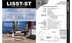 LISST-STX Submersible Field Instrument - Brochure