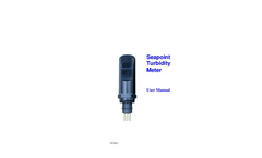 Seapoint - Turbidity Meter - User Manual
