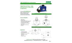 Model eDXI-100/200 - Precision Inclinometer Brochure