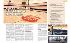 Brownfield Renewal Magazine Article - Vapor Intrusion