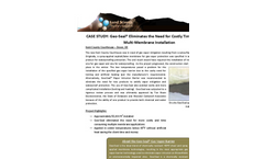 Case Study: Geo-Seal® Eliminates the Need for Costly Time Consuming Multi-Membrane Installation