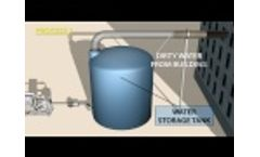 GWT Domestic Water Reuse Systems Incorporating Specialized Electrocoagulation - Video
