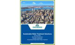GWT Municipal Water Solutions - Brochure