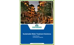GWT Hotel/Resorts Water Treatment Solutions - Brochure