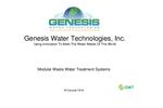 GWT Mbio MBBR (Modular Moving Bed Bioreactor System Presentation)