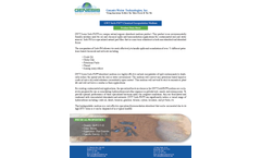 GWT Sorb-PM - Chemical Encapsulation Medium - Datasheet