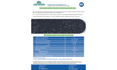 Coconut Shell Activated Carbon Media - Specification Sheet