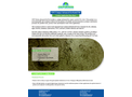 GWT Zeoturb Bio-Organic Powder Flocculant