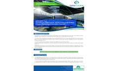 Genclean - Model Pool - Hotels/Resorts, Water Features, Aquatic Centers & Marine Parks Oxidation Microbiological Disinfection Treatment - Datasheet