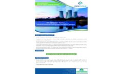 Genclean - Model Disinfect - Industrial/Commercial Cooling Tower Disinfection Treatment - Datasheet
