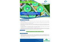 Genclean-Muni - Potable Water & Domestic Wastewater Facilities Oxidation & Disinfection Treatment - Datasheet