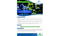 Genclean Ind - Industrial Water & Wastewater Facilities Oxidation & Disinfection Treatment - Datasheet