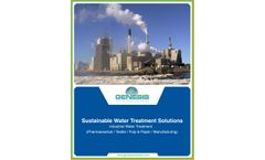 GWT Industrial Sector Water Solutions - Brochure
