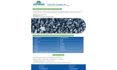 Anthracite Filter Media - Specification Sheet