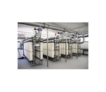 GWT - Ultrafiltration Wastewater Reuse Technology