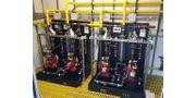 Chemical Feed Pump Skid Dosing System Industrial / Water Utilities