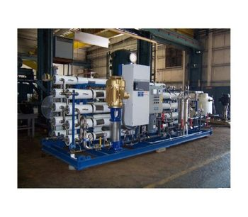 GWT Series - SWRO Seawater Reverse Osmosis Systems