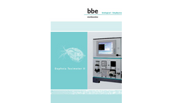 DaphTox - Model II - Biomonitoring Analyser Brochure