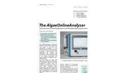 AlgaeOnline - Algae Monitoring Analyser Brochure